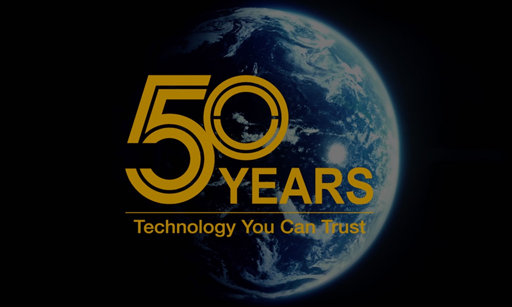 50 years of Technology you can Trust